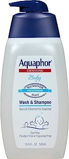 Aquaphor 婴儿沐浴乳 & 洗发水 16.9 fl oz 16.9
