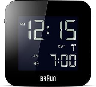 Braun 博朗 男式数字方形闹钟
