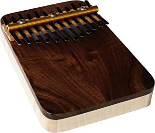 Zeither Heaven Artisan Curly Maple 12 NoteThumb 钢琴,黑色胡桃木顶部,美国制造