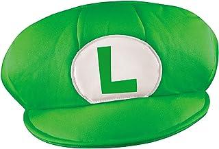 Disguise Men's Nintendo Super Mario Bros.Luigi Adult Hat Costume Accessory
