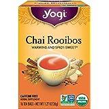 Yogi Tea, Chai Rooibos, Caffeine Free, 16 Tea Bags, 1.27 oz…
