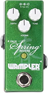 Wampler Ethereal Delay 和 Reverb 吉他效果踏板MINI FAUX SPRING REV 版本 1