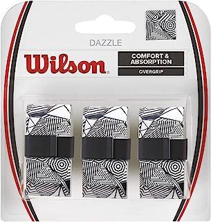 Wilson 威尔胜 男女通用成人 Dazzle OVERGRIP 振动阻尼器 白色 NS