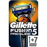 Gillette 吉列 Fusion5 ProGlide男士剃须刀,采用Flexball技术+ 7个补充装刀片,带精密修…