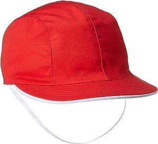 Catch 防紫外线 女童用 红白帽