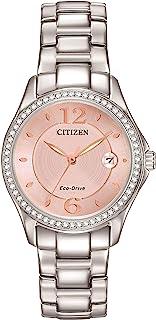 CITIZEN 女式施华洛世奇*不锈钢手表