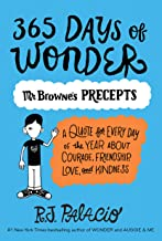 365 Days of Wonder: Mr. Browne's Precepts (English Edition)