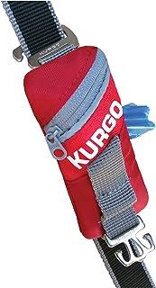 Kurgo 狗狗旅行包 | 可填充狗狗粪便袋分配器 | 带狗垃圾袋的分配器 | 可挂在任何牵引绳上 | 可机洗 | 通用设计 | 方便 | 挂钩用于废弃物袋