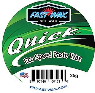 快速蜡 - 快速生态蜡 - *环保蜡膏,适用于滑雪和滑雪板打蜡 - 美国制造