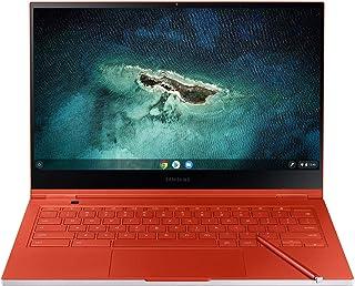 SAMSUNG 三星 Galaxy Chromebook 13.3英寸UHD AMOLED 笔记本电脑-高清Intel Core I-5处理器(256GB存储,8GB RAM)-2020年型号-福特嘉年华红-XE930QCA-K01US