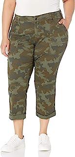 UNIONBAY 女式加大码七分裤