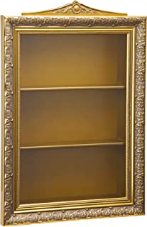 Design Toscano 沙尔墙上的鸡蛋 Curio 展示柜,45.72 厘米,金色