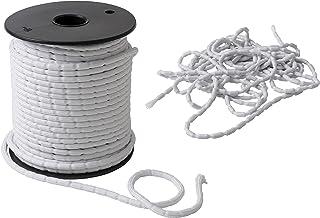 IPEA 铅编织 - 5 米 - 铅绳 - 适用于窗帘 - 各种克重 - 重量 - 白色 - 100 克 / 米