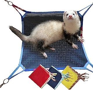 Capkomi 动物吊床,适用于笼子 3 件装