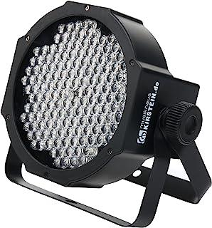 Showlite FLP-144 Flatline Panel LED 前照灯(PAR 射灯,迪斯科灯,舞台照明,灯具,144 个 LED/RBG 混合,接口:DMX 输入/输出,6 DMX 模式)