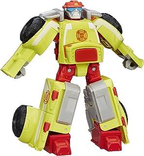 Playskool 英雄变形金刚救援机器人热浪消防机器人玩偶