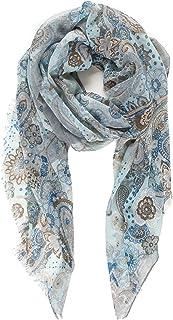 围巾女式轻质秋季冬季围巾 HEAD 披肩挤压来自 melifluos
