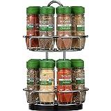 McCormick Two Tier Chrome Organic Spice Rack (Perfect Holida…