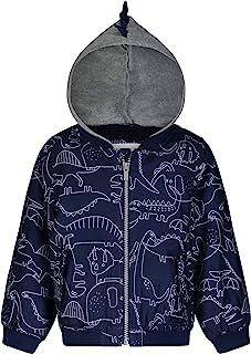 Carter's 卡特男婴连帽毛衣夹克,带羊羔绒衬里