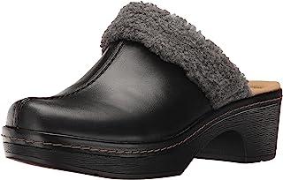 Clarks 女式 preslet grove 闭趾木底鞋