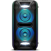 Sony 索尼 XB72 高功率家庭音频系统,蓝牙技术 (GTK-XB72),黑色