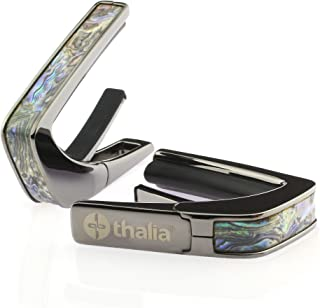 Thalia Capo 200 in Black Chrome Finish with Dragon Abalone 变调夹