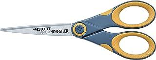 Westcott 钛结不粘剪刀 单瓶装 灰色/黄色