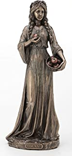Veronese Design 青铜饰面 Idunn Norse 春天和青春女神雕像