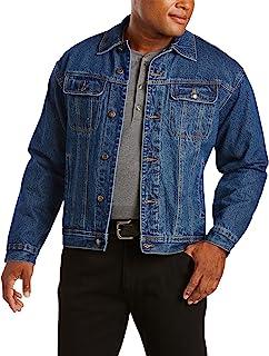 Wrangler Men's Big Rugged Wear Flannel Lined Jacket