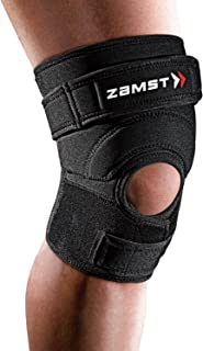 Zamst 赞斯特 中性 跳跃半月板保护排球篮球护膝 保护髌骨 JK-2 黑色 S