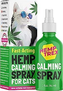 HEMPTREX *喷雾适用于猫狗和狗,含法洛蒙(60毫升) - #1 自然奇迹 - 减少*,放松*访问,旅行,雷救等等。
