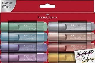 Faber-Castell 辉柏嘉 154689 – 记号笔 TL 46 金属 8 件装