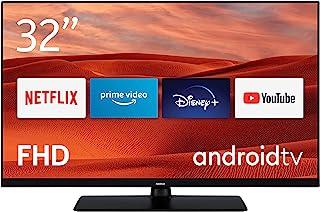 Nokia 诺基亚 Smart TV 3200A 32 英寸(80 厘米)LED 电视(全高清,杜比音频,HDR10,语音助手,三重调谐器 - DVB-C / S2/T2),安卓电视,包含带照明按钮的蓝牙遥控器