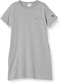 [Champion] 长款T恤 纯棉 C标 基本款 CK-T305 女孩
