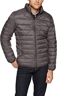 Amazon Essentials 男式轻质防水可折叠羽绒服