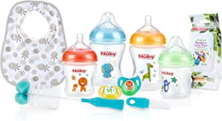 Nuby Natural Touch 奶瓶喂食入门套装