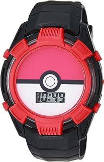 Pokemon 宝可梦 男孩 石英手表 塑料表带 多色 15 (型号:POK4233AZ)