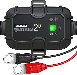 NOCO GENIUS2D,2 安培直装车载充电器,12V 电池充电器,电池维护器,涓流充电器和带温度补偿的电池脱硫器