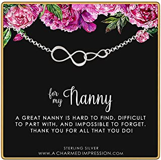 A Charmed Impression 纯银双无限手链 - Nanny