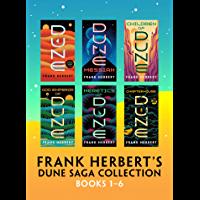Frank Herbert's Dune Saga Collection: Books 1 - 6 (English E…