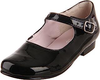 Kids Nina Girls Bonnett Leather Buckle Mary Jane Flats US