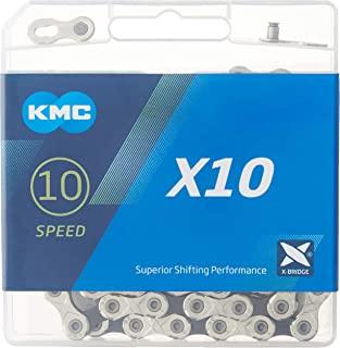 KMC X10.93,镀镍 116 链接 10 速链