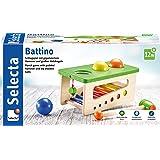 Selecta 62017 Battino 木质敲击台,22厘米,彩色