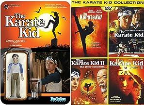 Karate Kid 家庭电影体育套装 DVD & Funko 反应:Daniel Larusso 可动公仔和 3 空手 1、2 & 3 + Remake 系列
