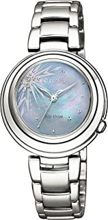 CITIZEN西铁城 腕表 西铁城 光动能驱动 PRINCESS系列 Frozen II 【ELSA】 EM0580-58N 女士 银色