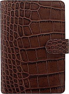 Filofax 26016 ClassicCroc 鳄鱼纹系列 个人记事本,栗子色