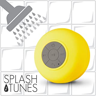 FRESHeTECH Splash Tunes Bluetooth Shower Speaker 黄