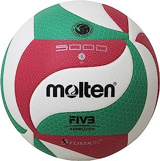 Molten 摩腾 排球 5号 (一般用・大学用・高中用) 检定球 Freisttech 排球V5M5000 自主练