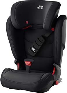 Britax 宝得适 Römer 儿童座椅15-36公斤(3.5-12岁),KIDFIX Z-LINE汽车安全座椅ISOFIX Group 2-3,Cosmos黑