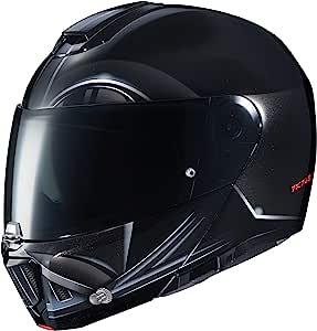 HJC 头盔 Modular Rpha 90 Darth Vader 图形摩托车头盔 大 黑色 1805-954